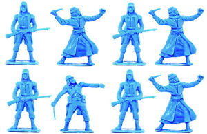 Cherilea Recasts - Foreign Legion and Arabs 8 in 3 poses unpainted 54mm plastic