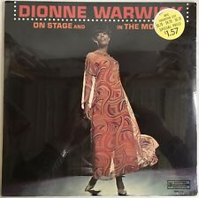Dionne Warwick On Stage And In The Movies LP Scepter SRM-559, Sealed