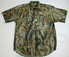 Supreme Winchester Mens Large Camouflage Button Up Shirt Real Tree Hardwoods