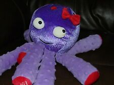 Octopus Plush Scentsy Buddy Bubbles Stuffed Animal Soft Toy Floppy Purple