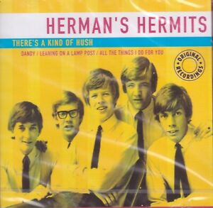 Herman's Hermits – There's A Kind Of Hush. Compilation. CD. New. Sealed