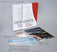 First Limited Edition QUEEN WE ARE THE CHAMPIONS FINAL LIVE IN JAPAN DVD+BOOK