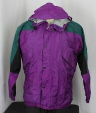 The North Face Vtg USA GoreTex Mountain Light Guide Jacket Purple Mens Small