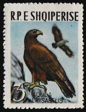 1963 Albania Golden Eagle (Scott 673) Bird Stamp - MNH
