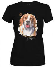 Señora camisa Beagle Signature Dogs motivo by siviwonder
