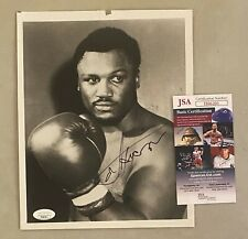 Joe Frazier Signed 8x10 Boxing Photo Autographed AUTO JSA COA
