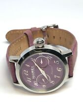 Haurex Ladies Purple Face Multifunction Quartz Watch