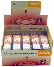 10x 100ml Zweitakt - Motoröl, Stihl HP 0781 319 8401, Mischöl,Motorsäge,- Sense