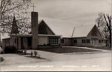 Methodist Church Carroll Iowa RPPC