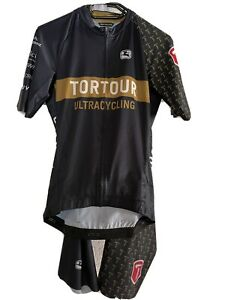 Giordana cycling jersey and bib shorts set men tortour, Made in Italy M L