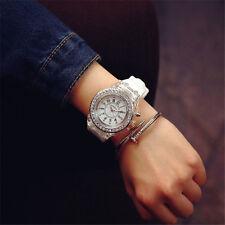 Mens Womens LED Dial Quartz Watch Lovers Gift Luminous Wristwatch