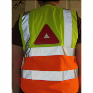 Active Light Hi Viz Reflective Vest