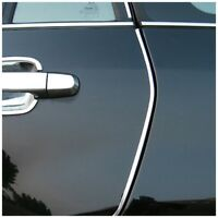 Decor DIY Interior Door Trim Chrome 4M Car U Silver Moulding Style Strip Super