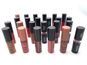 10 Lot - NYX TRAVEL SIZE Lip Items Lipstick Lip gloss Lip Cream FREE SHIPPING