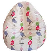 BEAN BAG Sewing Pattern *ADULT Size* with BONUS Foot Stool Cushion Pattern