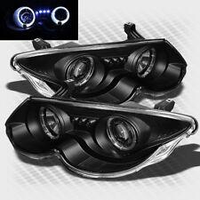 For 1999-2004 Chrysler 300M Twin Halo LED Pro Headlights Black Head Lights