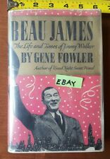 Beau James The Life and Times of Jimmy Walker SIGNED by NY Mayor and Author