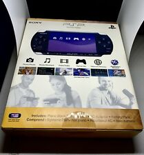 BRAND NEW SEALED Sony PSP-3000 Launch Edition 64MB Piano Black Handheld System