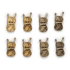 50pcs 2 Hole Natural Woolen Cartoon Wood Buttons Sewing Scrapbooking 25x12mm