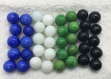 CHINESE CHECKERS Game Replacement Pieces Parts SET OF 40 GLASS MARBLES