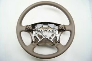 2005-2006 Toyota Camry / 2003-2009 Lexus GX470 Steering Wheel Vinyl - Tan