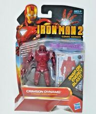 "CRIMSON DYNAMO ( 4"") RARE ( 2010) MARVEL IRON MAN MOVIE SERIES ACTION FIGURE #25"