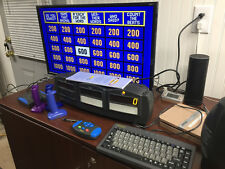 Classroom Jeopardy Game System EL-7920 with 2 Game Catridges - TESTED