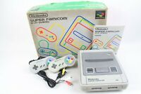 Nintendo Super Famicom Console in box with 2 controllers tested working japan