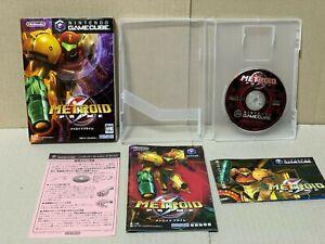 Nintendo GameCube Metroid Prime Japan GC with Box,manual