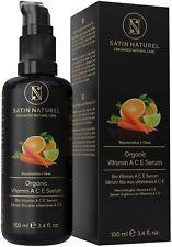 Sérum Visage Vitamine Ace Bio Rétinol acide Hyaluronique Soin Peau Beauté Vegan