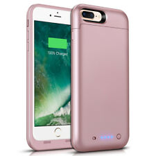 Fr iPhone 7Plus Battery Case 7000mAh Ultra Slim Extended Batery Backup