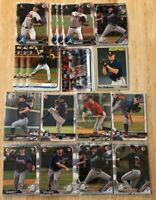 (x75 LOT) Ian Anderson - Kyle Wright - Bryse Wilson (1st Bowman) RC Rookie