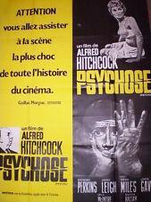 Affiche 120x160cm PSYCHOSE (PSYCHO) 1960 Hitchcock - Anthony Perkins R NEUVE