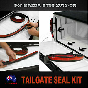 TAILGATE SEAL KIT For MAZDA BT50 2012-ON RUBBER DUST TAIL GATE SEAL