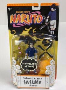 2002 Mattel  Shonen Jump's Naruto Sasuke Uchiha 360 degree attack Packaged