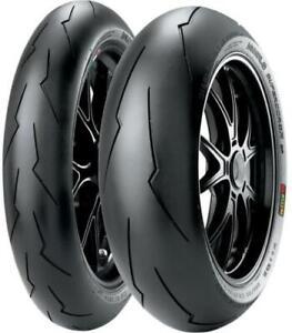 Pirelli Diablo SuperCorsa SP V2 Tire Rear - 180/55ZR-17 2244800* 180/55-17 Rear