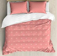 Rose Color Duvet Cover Set Twin Queen King Sizes with Pillow Shams Bedding