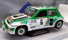 Modellini statici di auto da corsa Rally verde per Renault
