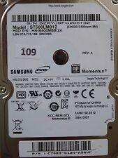 500 GB Samsung ST500LM012 HN-M500MBB /Z4 / 02.2012 / PCB: M8_REV.03 #109