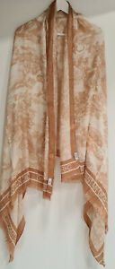 Stole Christian Dior Collection Dioriviera Pink Toile de Jouy Lightweight Shawl