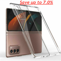 For Samsung Galaxy Z Fold 2 Phone Back Case Camera Protective Case Cover