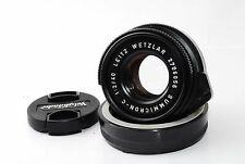 "Leica Summicron-C 40mm f/2 for CL CLE M Mount  ""Very Good""  #0956"