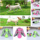 4PCS Mesh Pet Dog Boots Breathable Puppy Shoes Anti-slip Protective Summer Shoes