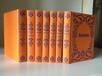 COLETTE roman illustré lot relié édiclub Rombaldi 1975 en très bon état
