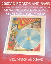 More details for 2000ad us comic magazine boards and bags - dropdown for multi sizes & quantities