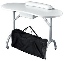 Portable Folding Manicure Nail Table Spa Salon