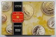 1998 Specimen Set - Original Royal Canadian Mint Packaging
