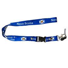 NOVA SCOTIA CANADA PROVINCIAL FLAG LANYARD KEYCHAIN PASSHOLDER .. NEW