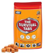 Emergency Food Protein Substitute Survival Tabs  24 Butterscotch Flavor NEW
