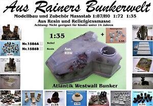 Für Diorama Nr.1586B Atlantik Westwall Bunker 1:35 Resin